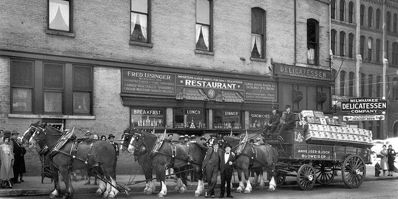 Historic photo of Milwaukee Deli